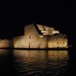 Castello Alfonsino di notte Brindisi