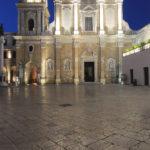 Cattedrale di Brindisi di notte