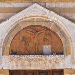 chiesa del cristo dei domenicani lunetta del portale brindisi