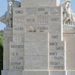 Monumento ai Caduti d'Italia Brindisi PArticolare